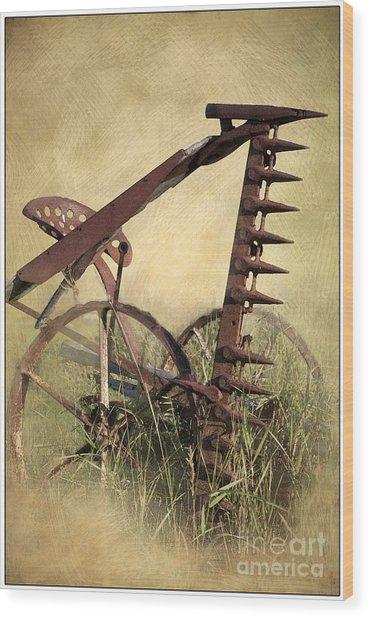 Old Harrow Wood Print