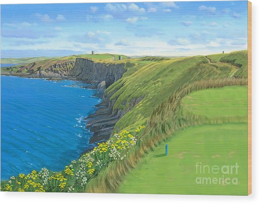 Old Head Golf Club Ireland Wood Print