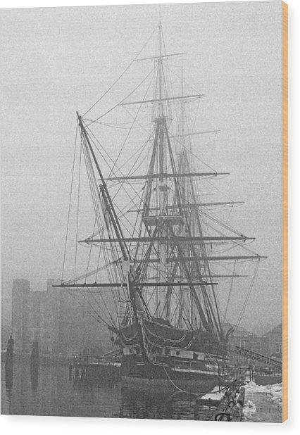 Old Ironsides 1001 Wood Print