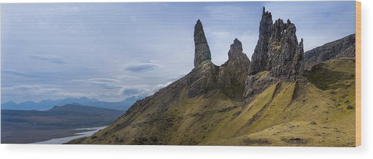 Old Man Of Storr Isle Of Skye Wood Print