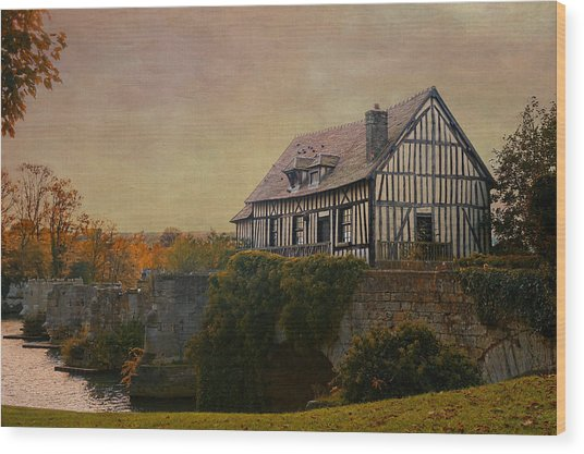 Old Mill On The Broken Bridge At Vernon Wood Print