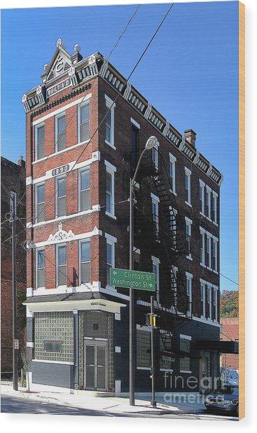 Old Penn Hotel - Johnstown Pa Wood Print