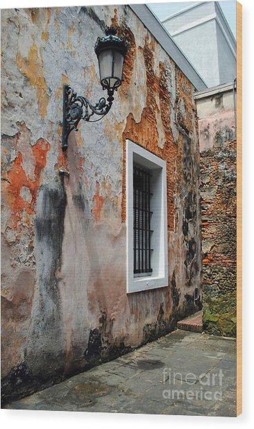 Old San Juan Jail Wood Print