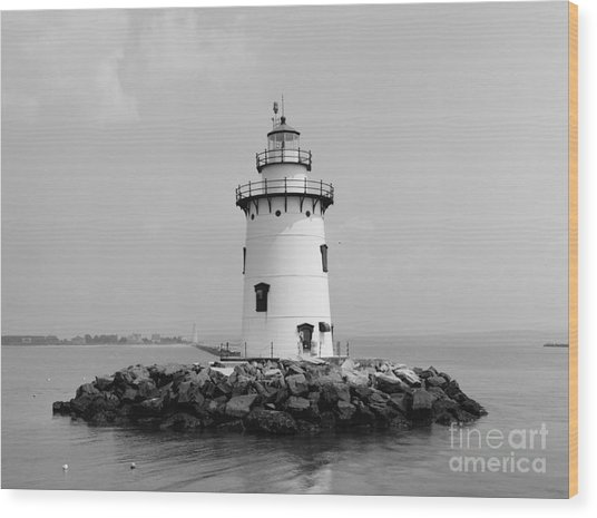 Old Saybrook Connecticut Lighthouse Wood Print