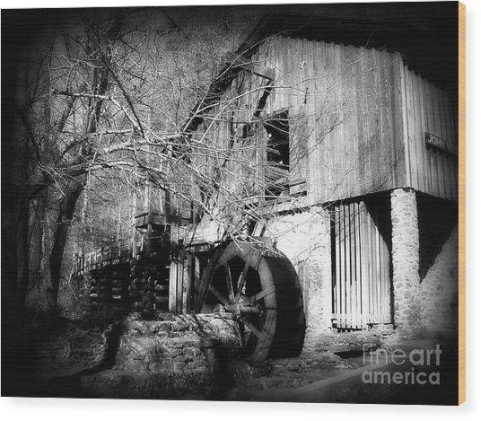 Oldmill Wood Print
