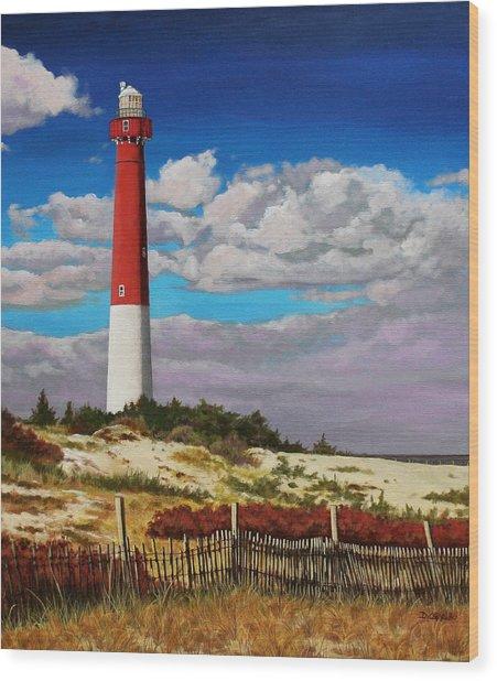 Ole Barney Wood Print