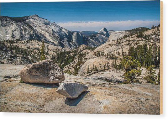 Olmsted Point Wood Print
