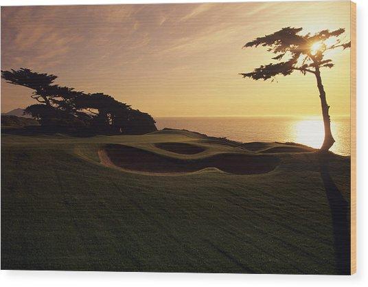 Olympic Club Wood Print by Stephen Szurlej