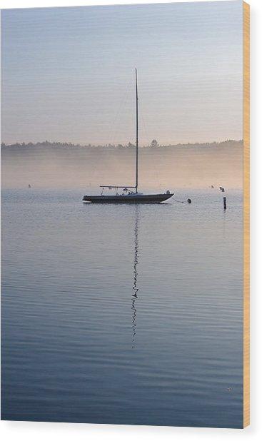 One Autumn Morning Wood Print
