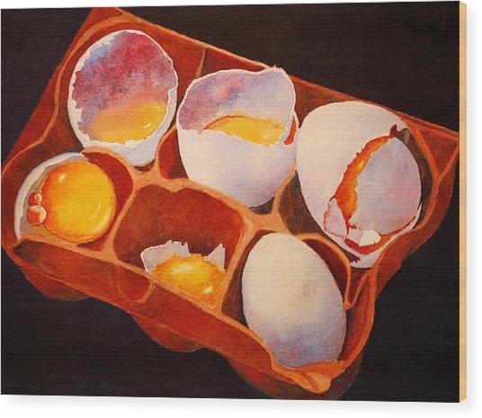 One Good Egg Wood Print