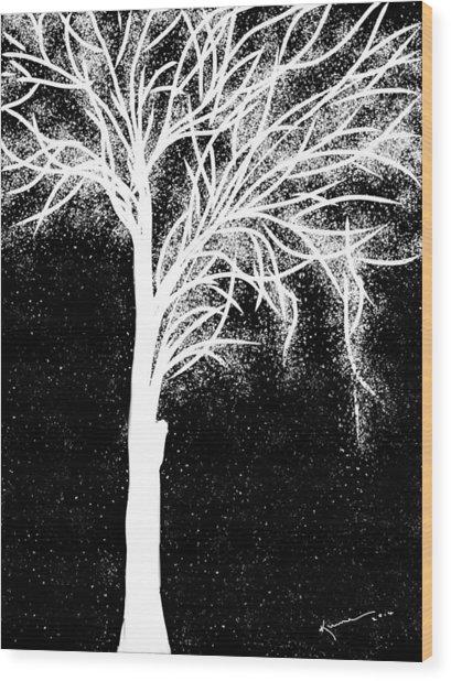 One More Tree Wood Print