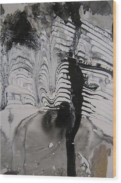 One Night In Paris Wood Print