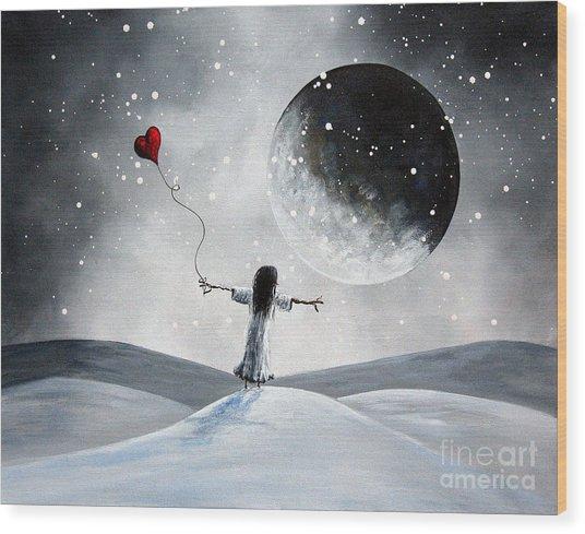 One Small Dream By Shawna Erback Wood Print by Shawna Erback