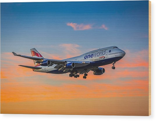 Oneworld Wood Print by Neah Falco