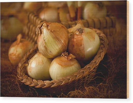 Onions1965 Wood Print