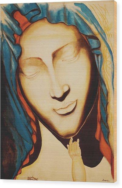 Only One Illuminates My Soul II Wood Print