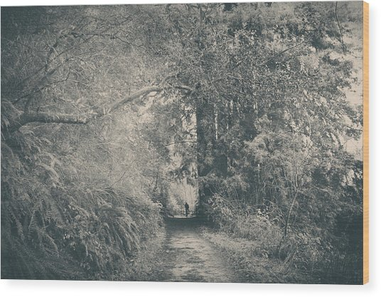 Only Peace Wood Print