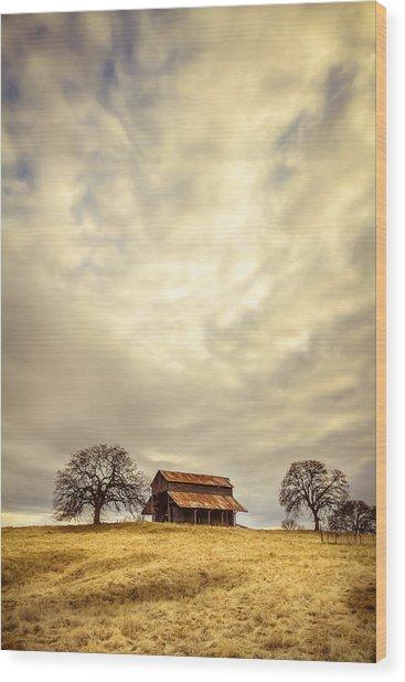 Ono Barn Wood Print