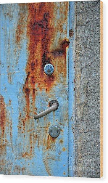 Open No More Wood Print