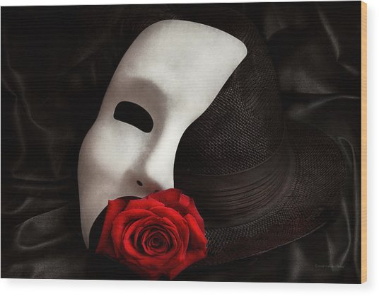 Opera - Mystery And The Opera Wood Print