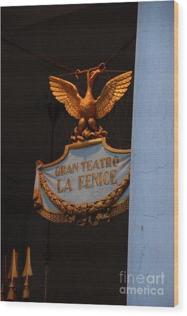 Opera Performance Wood Print by Jacqueline M Lewis