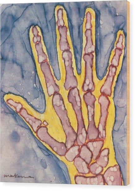 Opposing Thumb Wood Print