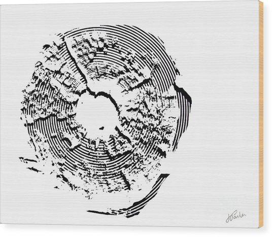 Orbits Wood Print