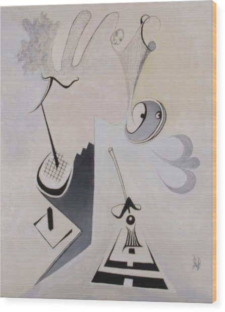 Orchestrated Wood Print by David Douthat