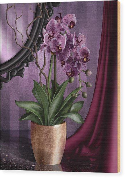 Orchid I Wood Print