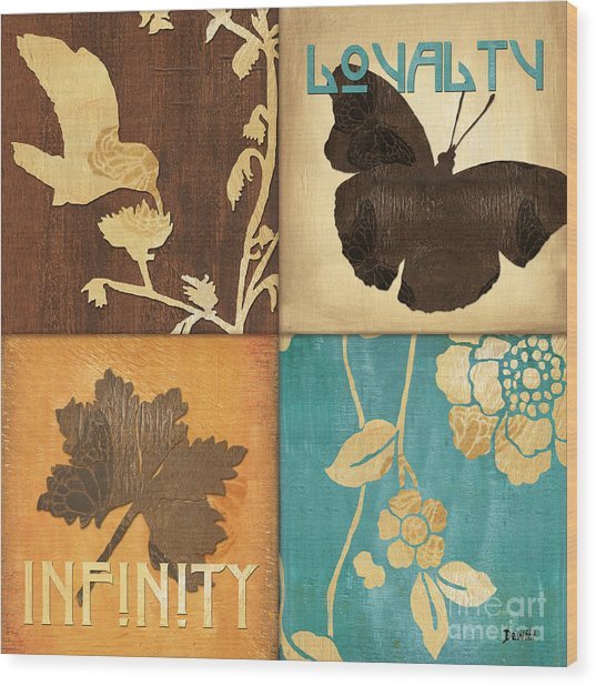 Organic Nature 3 Wood Print