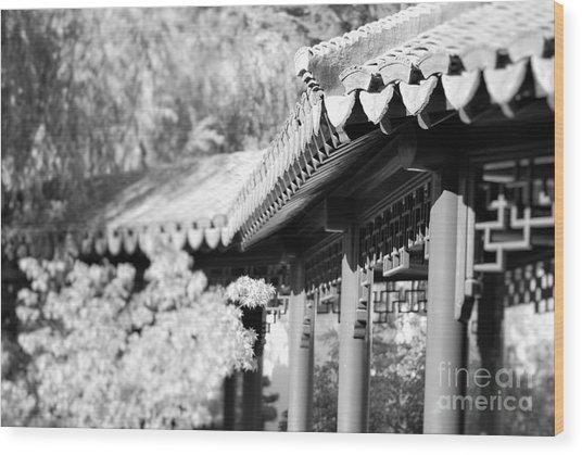 Oriental Roof #2 Wood Print