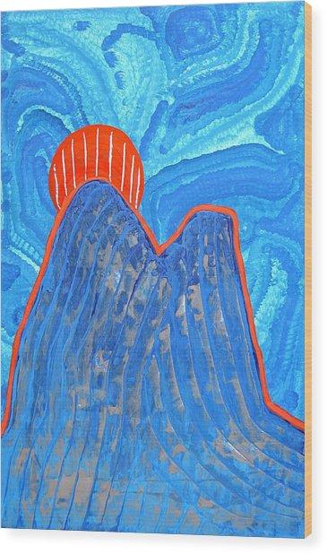 Os Dois Irmaos Original Painting Sold Wood Print