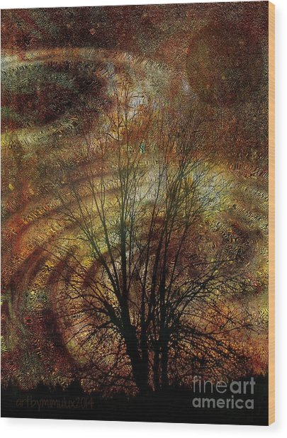Otherworld Wood Print