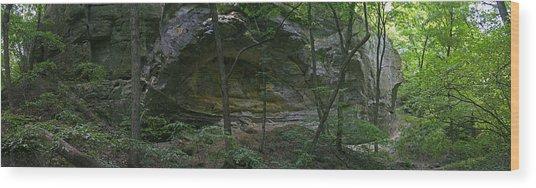 Ottawa Canyon Wood Print by Gary Lobdell