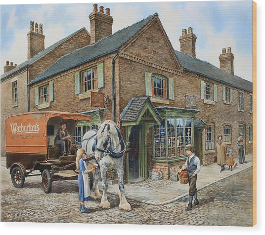 Our Daily Bread Wood Print by Anthony Forster