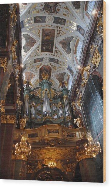 Our Lady Of Czestohowa Basilica Interior Wood Print