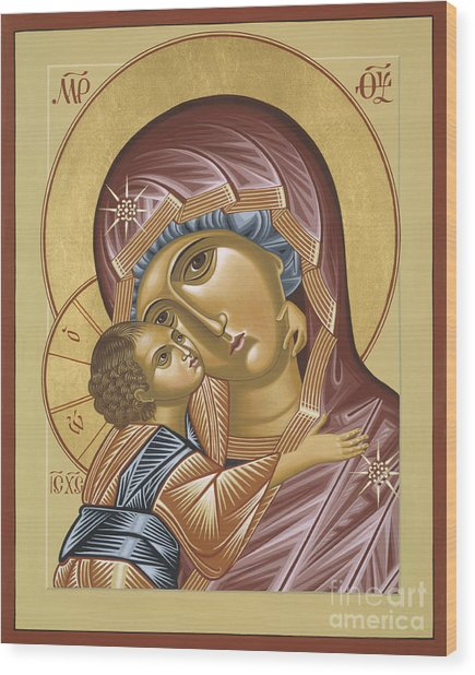 Our Lady Of Grace Vladimir 002 Wood Print