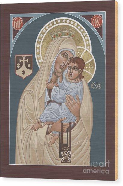 Our Lady Of Mt. Carmel 255 Wood Print