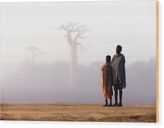 Our Way To Madagascar 2016 Wood Print by Gina Buliga