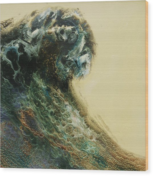 Out Of The Depths Sold Wood Print by Lia Melia