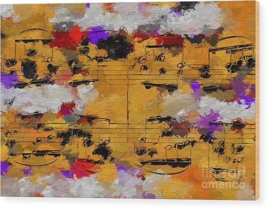 Overcast Opus 1 Wood Print