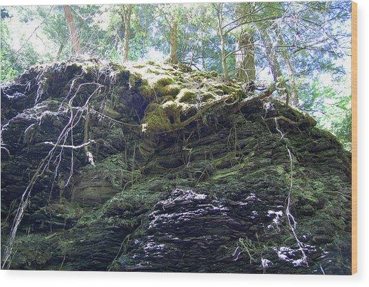 Overhang II Wood Print