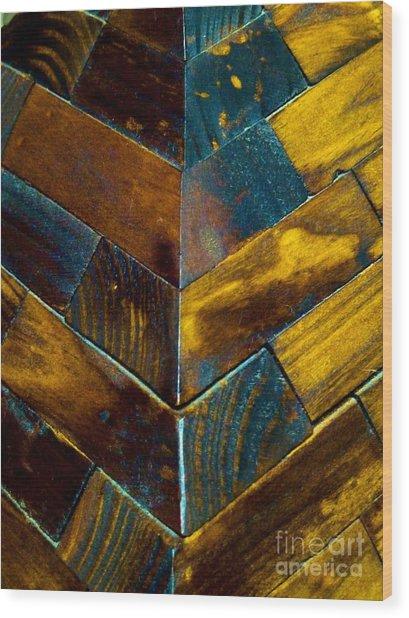 Overlap Wood Print
