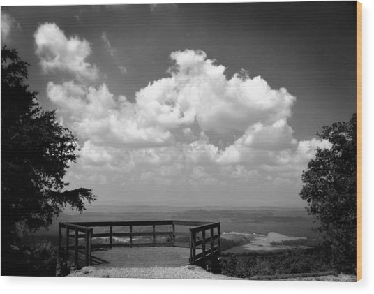 Overlook 1 Wood Print