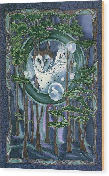 Owl Totem Wood Print