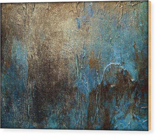 Oxidized 2 Wood Print