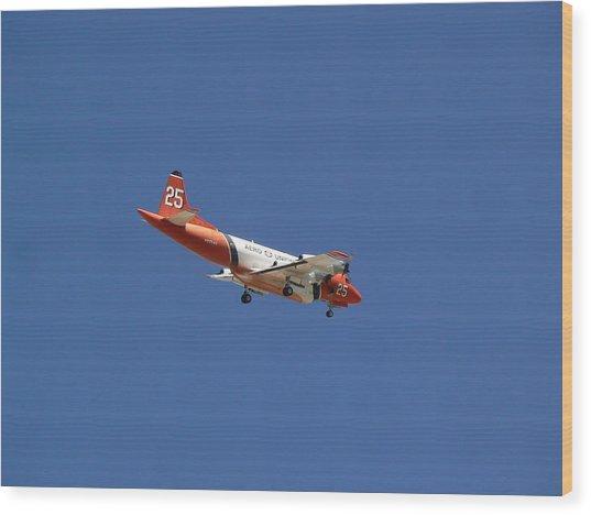 P-3 Orion Hero's Return Day Wood Print