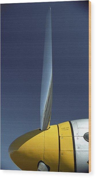 P51 Wood Print