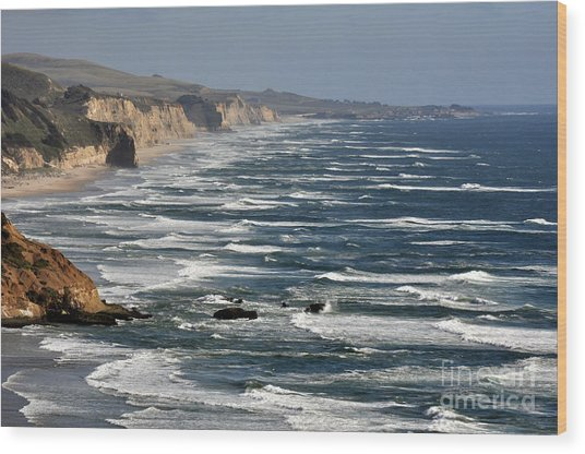 Pacific Coast - Image 001 Wood Print