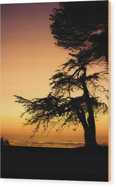 Pacific Wood Print
